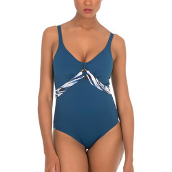 Textiel Dames Badpak Selmark Cebras  Mare 1-delig voorgevormd beeldhouwwerk badpak Blauw