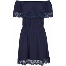 Textiel Dames Korte jurken Lascana Beach Dress Holly  marine Blauw Marine