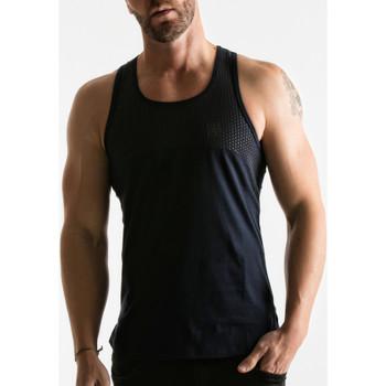 Textiel Heren Mouwloze tops Code 22 Loopvlakcode22 Tank Top Blauw Marine