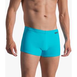 Textiel Heren Zwembroeken/ Zwemshorts Olaf Benz Bad Boxer BLU1753 Blauw Turquoise