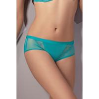 Ondergoed Dames Boxers Lisca Shorty Sarah Blauw Turquoise