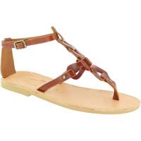 Schoenen Dames Sandalen / Open schoenen Attica Sandals GAIA CALF DK-BROWN marrone