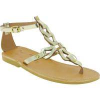 Schoenen Dames Sandalen / Open schoenen Attica Sandals GAIA CALF GOLD oro