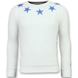 Textiel Heren Sweaters / Sweatshirts Local Fanatic Five Stars - Exclusieve Sweater Heren - 6354W 1
