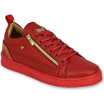 Schoenen Heren Lage sneakers Cash Money Rode Sneakers - Cesar Red Gold - CMP97 Rood
