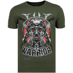 Textiel Heren T-shirts korte mouwen Local Fanatic Savage Samurai Print G Groen