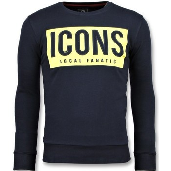 Textiel Heren Sweaters / Sweatshirts Local Fanatic ICONS Block - Funny Sweater Mannen - 6355B