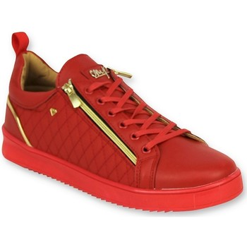 Schoenen Heren Lage sneakers Cash Money Luxe Sneakers - Jailor Red Gold - Rood