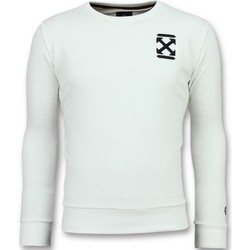 Textiel Heren Sweaters / Sweatshirts Local Fanatic Off Cross Luxe W Wit