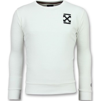 Textiel Heren Sweaters / Sweatshirts Local Fanatic Off Cross - Luxe Sweater - 6356W - Wit
