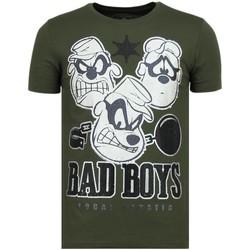 Textiel Heren T-shirts korte mouwen Local Fanatic Beagle Boys - Grappige T shirt Mannen - 6319G 25