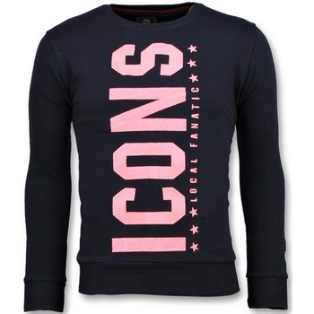 Textiel Heren Sweaters / Sweatshirts Local Fanatic ICONS Vertical N Blauw