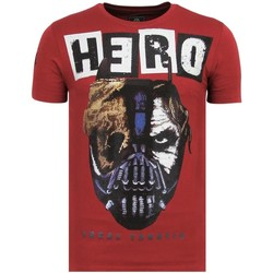 Textiel Heren T-shirts korte mouwen Local Fanatic Hero Mask - Zomer T shirt Heren - 6323B