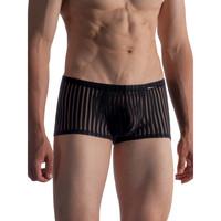 Ondergoed Heren Boxershorts Olaf Benz Shorty RED1865 Parelmoer Zwart