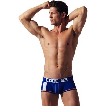 Ondergoed Heren Boxershorts Code 22 Code voor korte streepjes22 Blauw