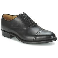 Schoenen Heren Klassiek Barker BURFORD Zwart