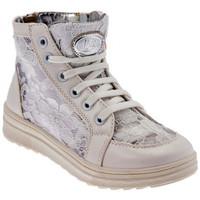 Schoenen Meisjes Hoge sneakers Laura Biagiotti  Wit