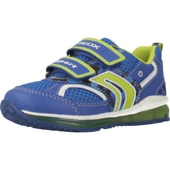 Schoenen Jongens Lage sneakers Geox B9284A Blauw