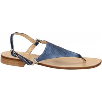 Schoenen Dames Sandalen / Open schoenen Paolo Ferrara CUOIO NATURALE blue