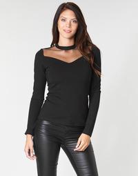 Textiel Dames Tops / Blousjes Moony Mood LAMELI Zwart