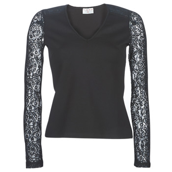 Textiel Dames Tops / Blousjes Moony Mood LANELORE Zwart