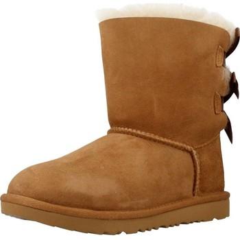 Schoenen Meisjes Hoge laarzen UGG BAILEY BOW II Bruin