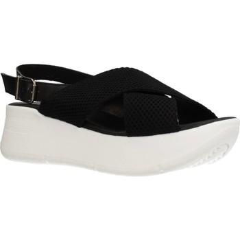 Schoenen Dames Sandalen / Open schoenen Clover 15719C Zwart