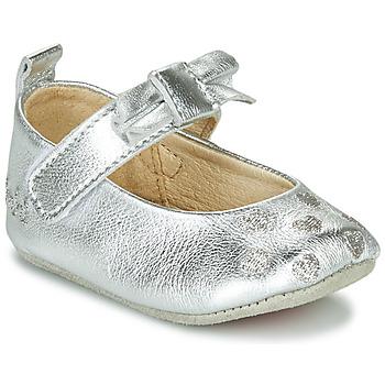 Schoenen Meisjes Sloffen Catimini CORIDA Zilver