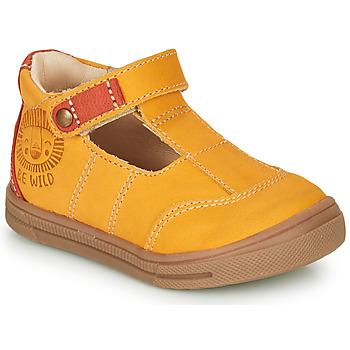 Schoenen Jongens Sandalen / Open schoenen GBB ARENI Geel