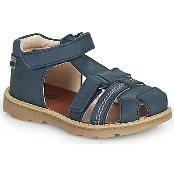 Schoenen Jongens Sandalen / Open schoenen GBB SEVILLOU Blauw
