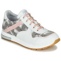 Schoenen Meisjes Lage sneakers GBB LELIA Wit / Zwart / Roze