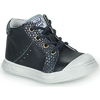 Schoenen Meisjes Hoge sneakers GBB AGAPE Blauw