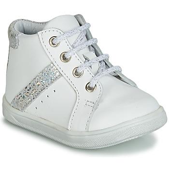 Schoenen Meisjes Hoge sneakers GBB AGLAE Wit