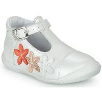 Schoenen Meisjes Ballerina's GBB AGATTA Wit