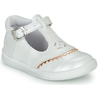 Schoenen Meisjes Ballerina's GBB AGENOR Wit