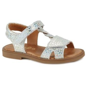 Schoenen Meisjes Sandalen / Open schoenen GBB FARENA Zilver