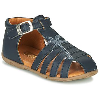 Schoenen Meisjes Sandalen / Open schoenen GBB ANAYA Marine