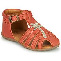 Schoenen Meisjes Sandalen / Open schoenen GBB ANAYA Koraal