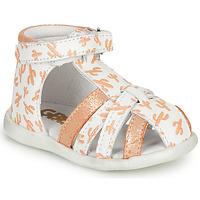 Schoenen Meisjes Sandalen / Open schoenen GBB AGRIPINE Oranje