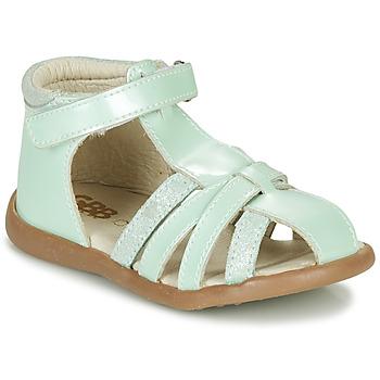 Schoenen Meisjes Sandalen / Open schoenen GBB AGRIPINE Groen