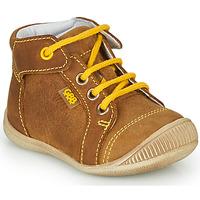 Schoenen Jongens Hoge sneakers GBB PARGA Bruin