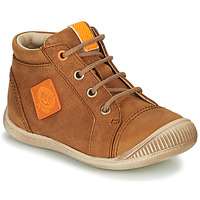 Schoenen Jongens Hoge sneakers GBB TARAVI Bruin