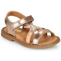Schoenen Meisjes Sandalen / Open schoenen GBB OLGA Roze / Goud
