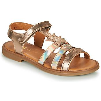 Schoenen Meisjes Sandalen / Open schoenen GBB OLGA Goud
