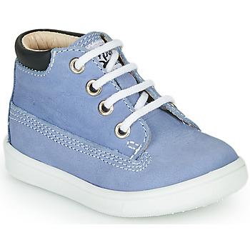 Schoenen Jongens Hoge sneakers GBB NORMAN Blauw