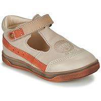 Schoenen Jongens Sandalen / Open schoenen GBB ANGOR Beige / Oranje