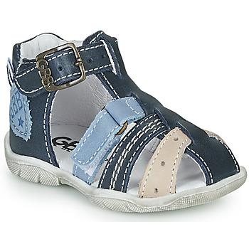 Schoenen Jongens Sandalen / Open schoenen GBB BYZANTE Blauw