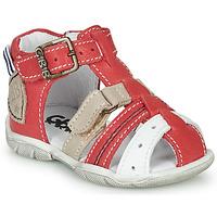 Schoenen Jongens Sandalen / Open schoenen GBB BYZANTE Rood