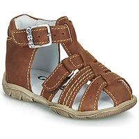 Schoenen Jongens Sandalen / Open schoenen GBB ARIGO Bruin