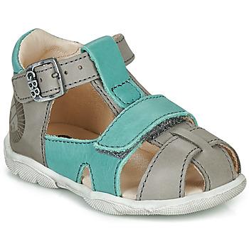 Schoenen Jongens Sandalen / Open schoenen GBB SEROLO Grijs / Blauw
